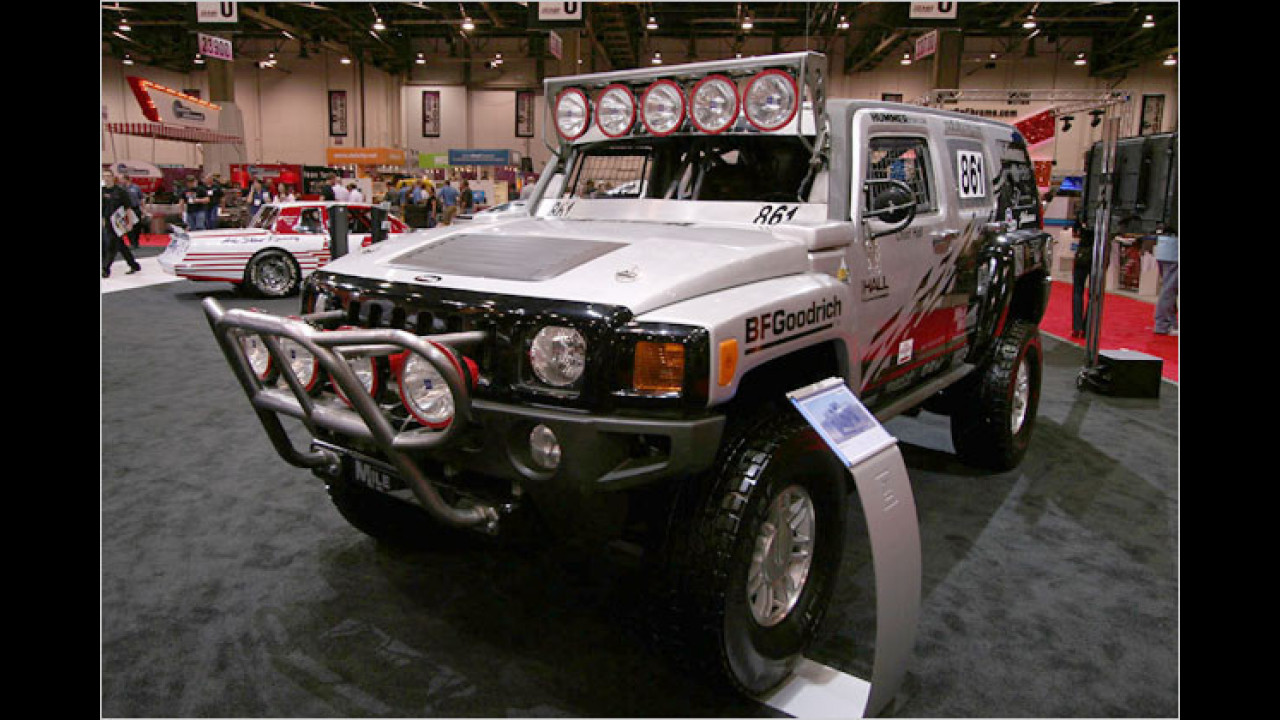 Hummer Rod Hall Racing
