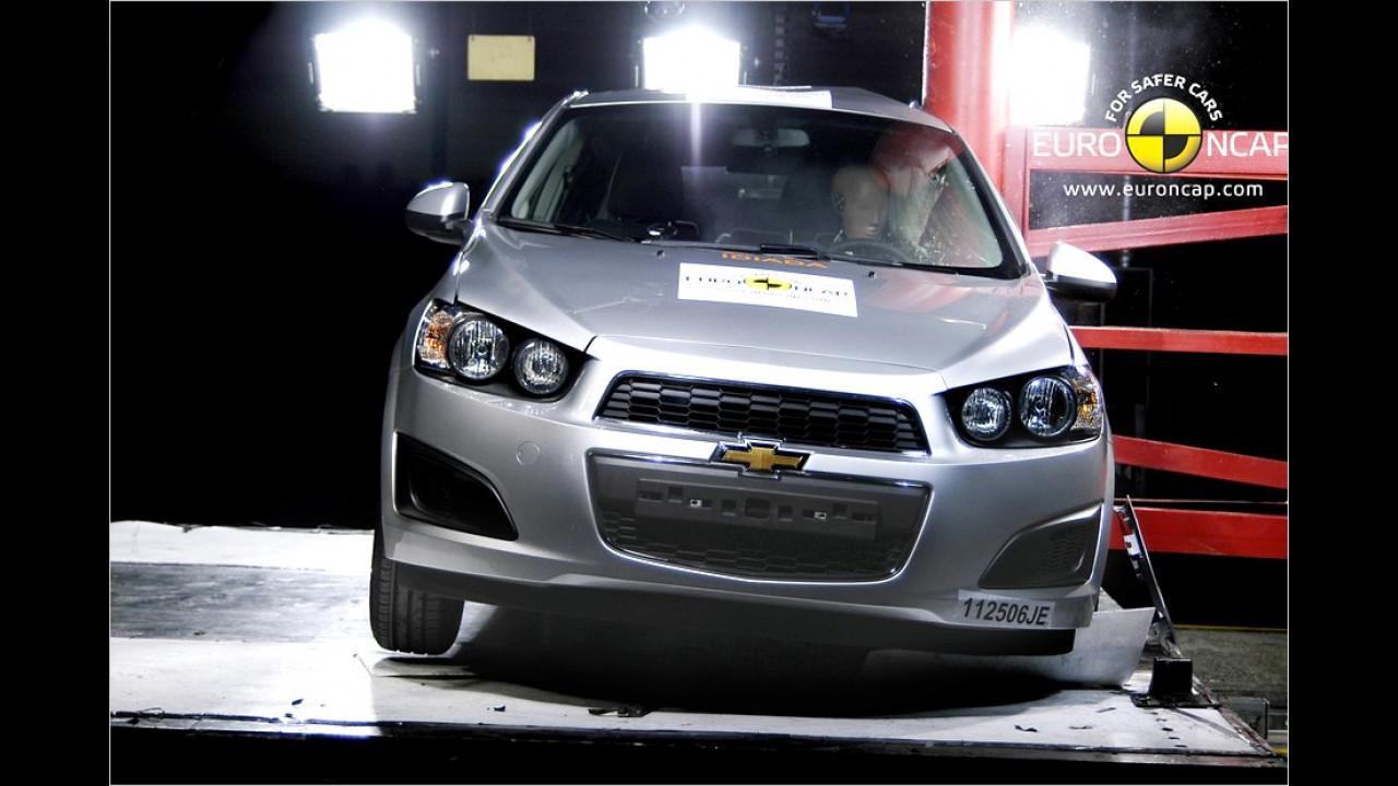 Chevrolet Aveo 1.2 LT, fünf Sterne