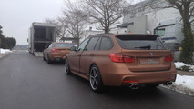 AC Schnitzer BMW 640d Gran Coupe and 3-Series Touring loading on trailer
