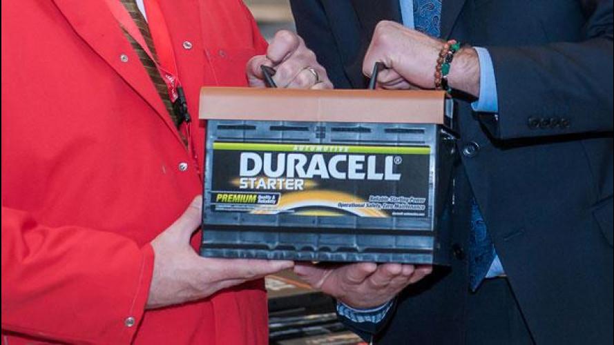 Adesso le batterie auto sono anche Duracell