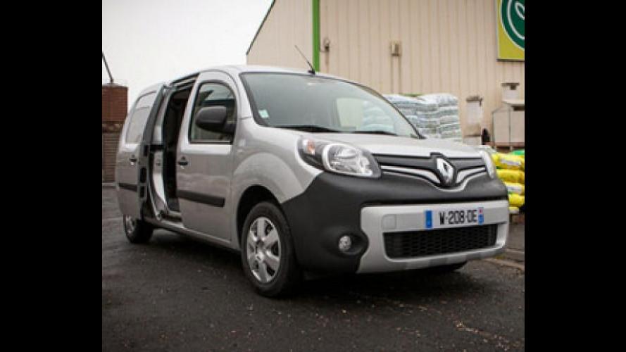 Nuovo Renault Kangoo, ce n'è per tutti