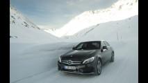 Mercedes Winter Workshop 4Matic, la gamma integrale sulla neve