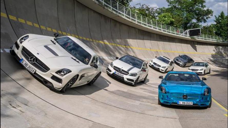 Mercedes AMG, 18 nuove super car per l'estate