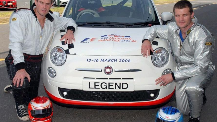 Fiat 500 at 2008 Australian F1 Grand Prix