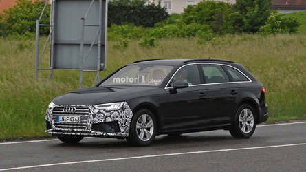 Refreshed Audi A4 Spied Showing Off Its New Nose