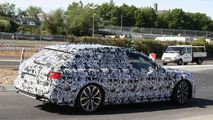 2012 Audi S6 Avant spied for the first time