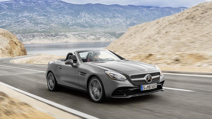 2017 Mercedes SLC unveiled, AMG variant drops the V8