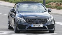 2017 Mercedes-AMG C43 Cabriolet spy photo
