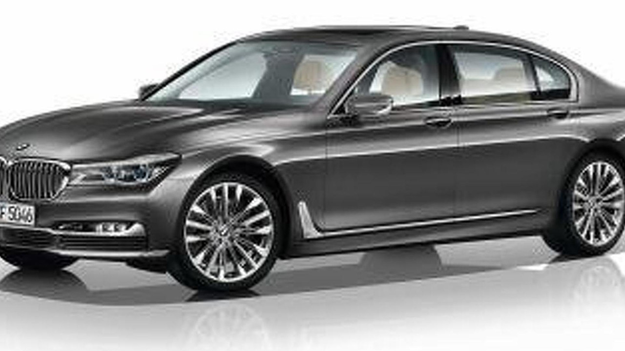 2016 BMW 7-Series screenshot from configurator