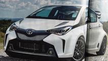 More powerful Toyota Yaris render