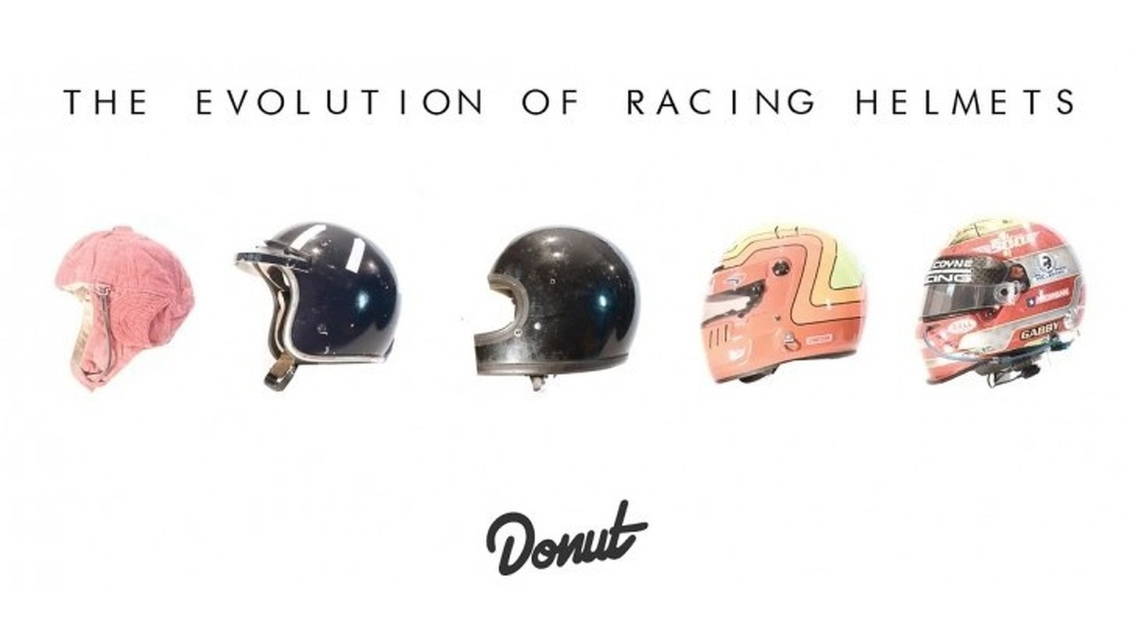 The evolution of racing helmets