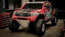 2017 Toyota Hilux Evo ralli aracı