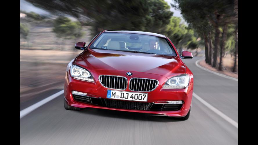 Nuova BMW Serie 6 Coupé