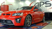APS Pontiac G8 fire