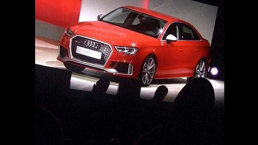Is this the Audi RS3 Sedan or RS4 Sedan?