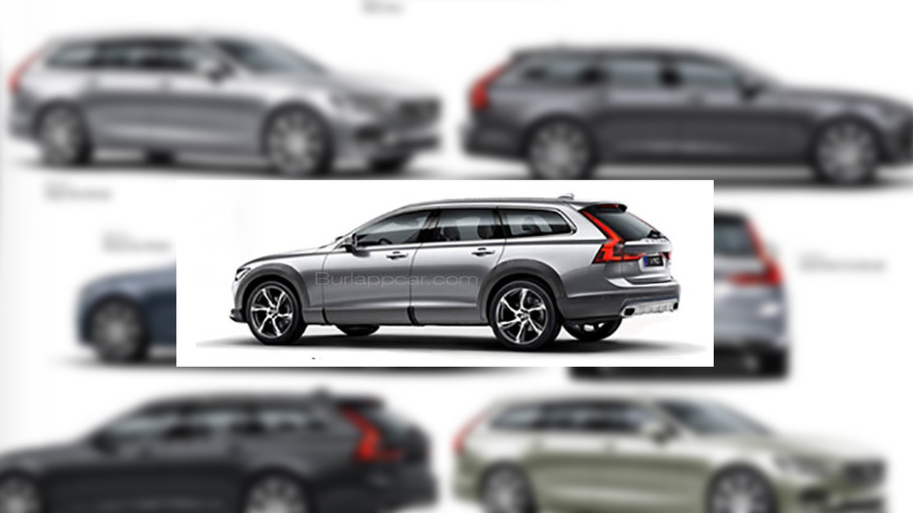 Volvo V90 Cross Country leak