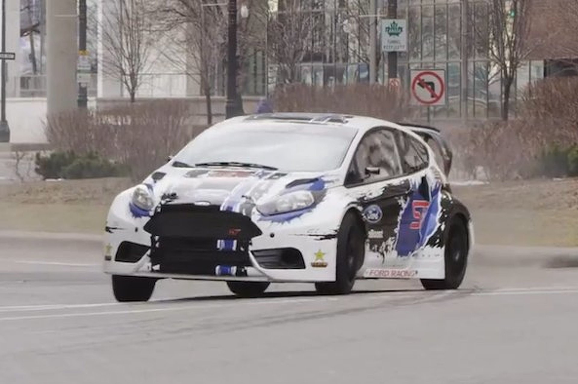 Ford Tries to Lure Summer X Games to Detroit with Driftastic Fiesta ST [video]