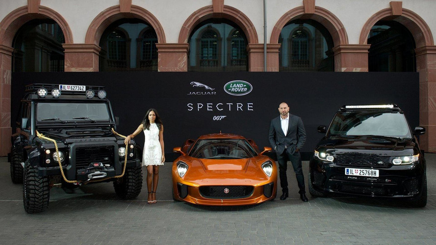 Jaguar Land Rover unveils from three movie cars from Spectre