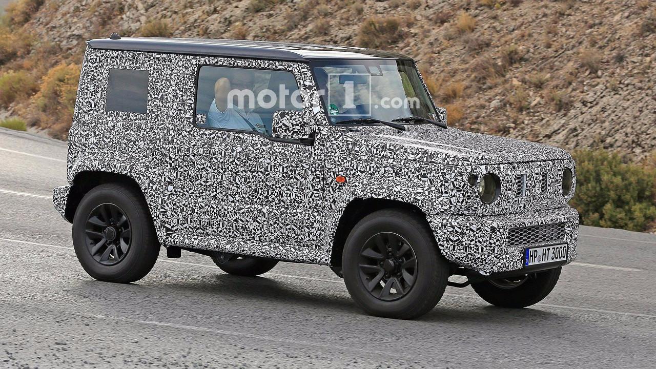 Next Gen Suzuki Jimny Spied Testing With Current Model