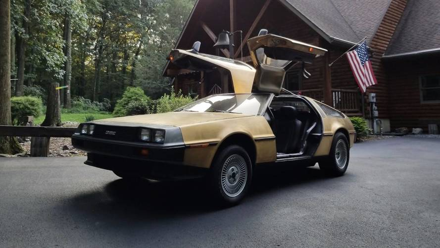 Buy This Strange Gold-Plated DeLorean, One Of Just Five