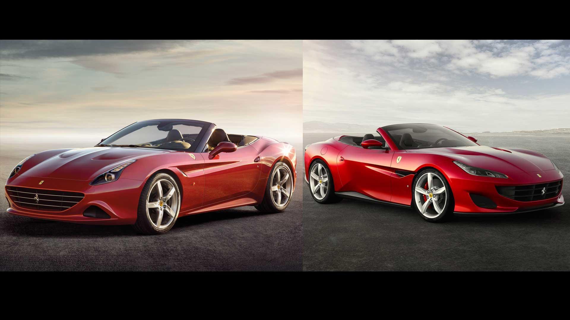 Ferrari Portofino Vs California T: See The Changes Side-By ...