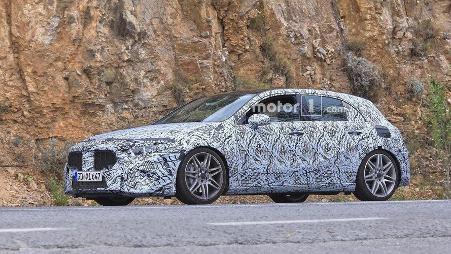 2019 Mercedes-AMG A45 Spied Riding Low