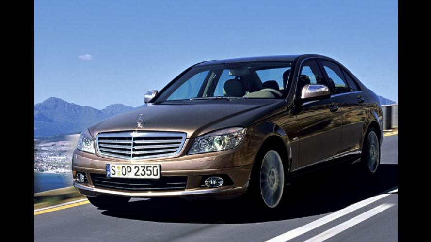 Mehr S-Flair für die Mittelklasse: Neue Mercedes C-Klasse