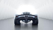 Aston Martin Valkyrie with near-production body