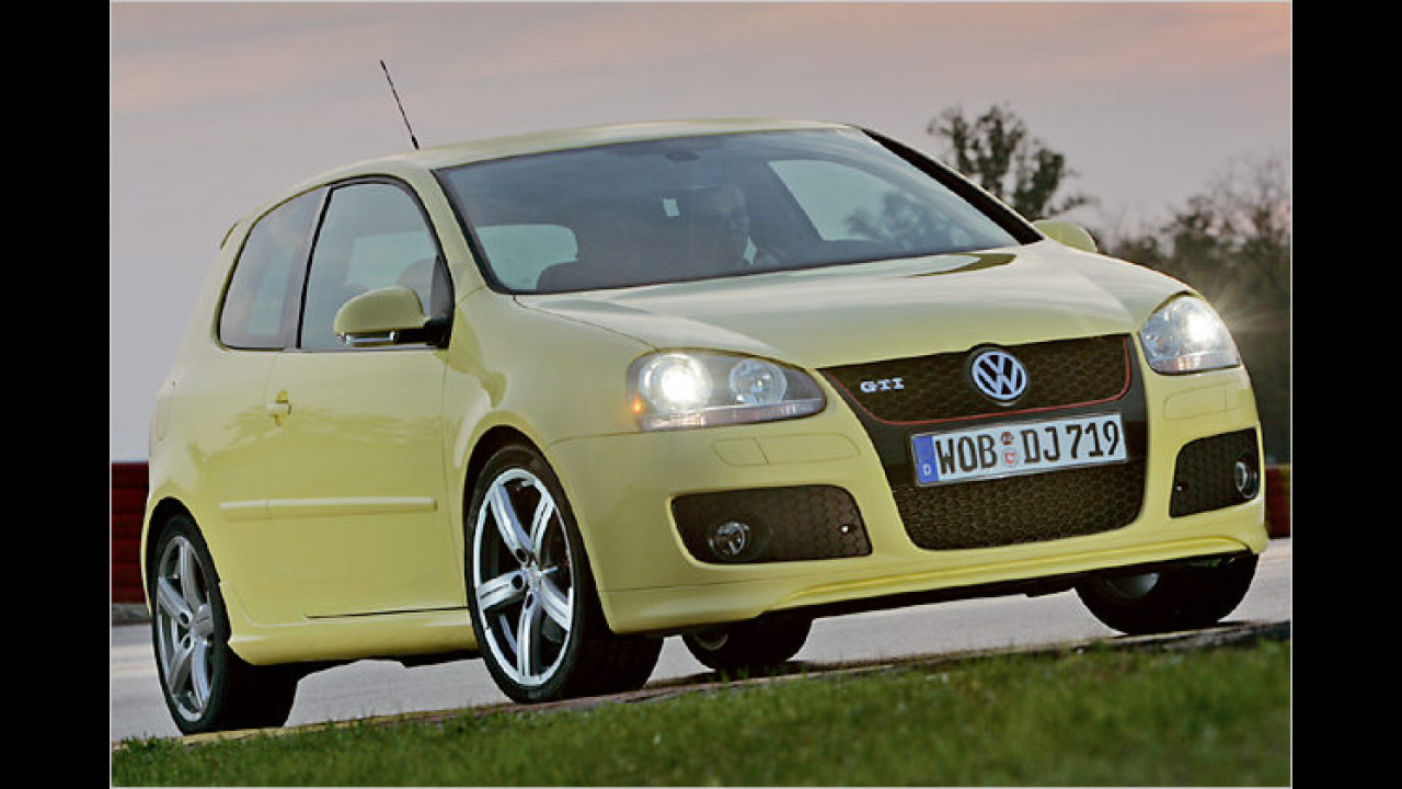VW Golf V GTI Pirelli, Bauzeit: Ab 2007