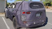 Hyundai Santa Fe 2018 fotos espía