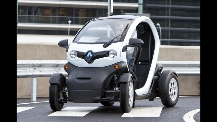 Renault Twizy pode ser guiado por adolescentes de 14 anos na França