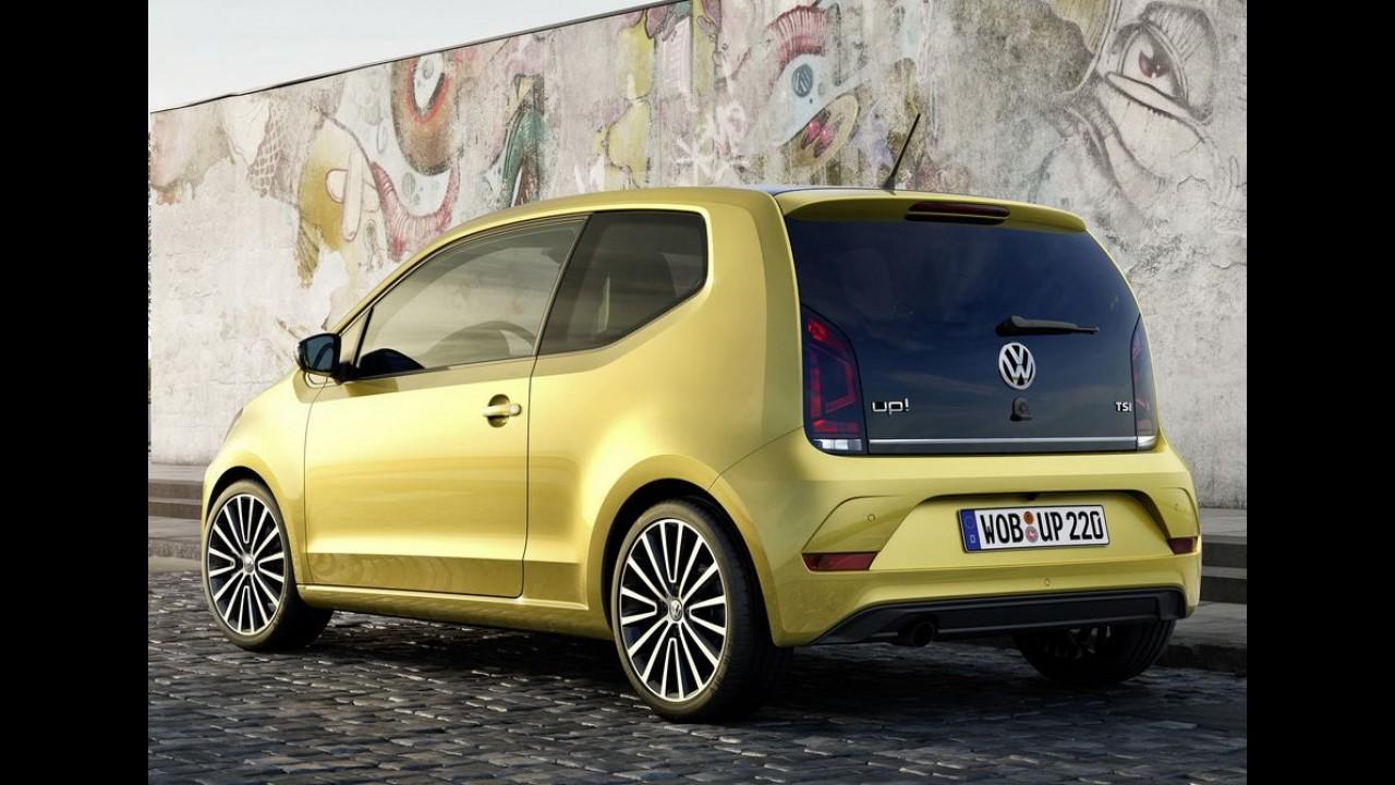VW up! 2017 ganha tapa no visual e mais refinamento na cabine - veja fotos