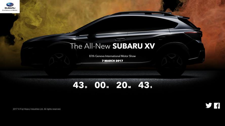 Subaru Crosstrek teaser