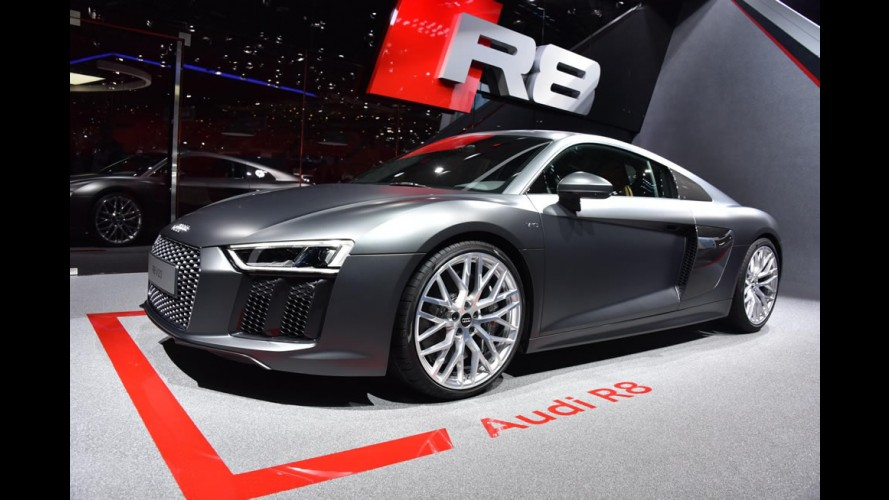Novo Audi R8 brilha nas versões V10, V10 Plus e e-tron e Genebra