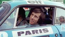 Jean Ragnotti lors de sa visite au Mondial de l'Auto