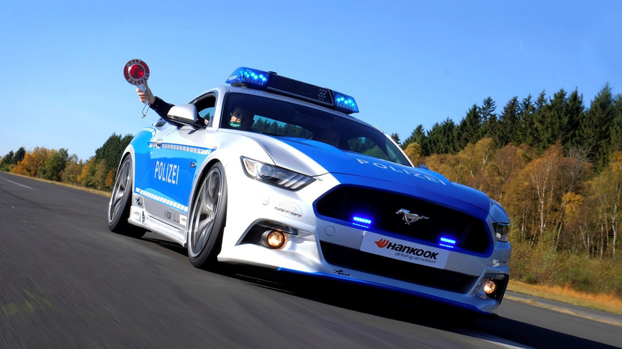 German police are using this awesome tuned Mustang