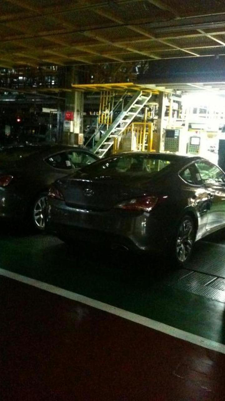 2012 Hyundai Genesis Coupe leaked photo - 29.8.2011