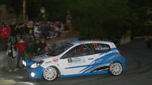 Taormina-Messina, Sicily Robert Kubica (POL) tries his hand at Rally driving at the Taormina-Messina Rally (Co-Driver Kusnierz Michal (POL) Renault New Clio R3C Dp Autosport) - Taormina-Messina Rally