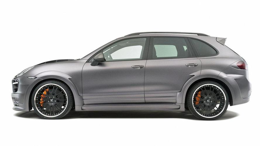 Hamann Guardian based on Porsche Cayenne debut in Geneva