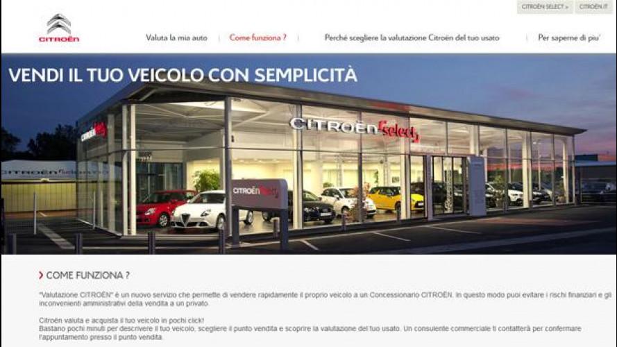 Auto usata, Citroen la valuta online di qualsiasi marca