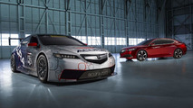Acura TLX GT race car to compete in the Detroit Belle Isle Grand Prix