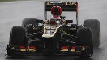 Heikki Kovalainen in practice 22.11.2013 Brazilian Grand Prix