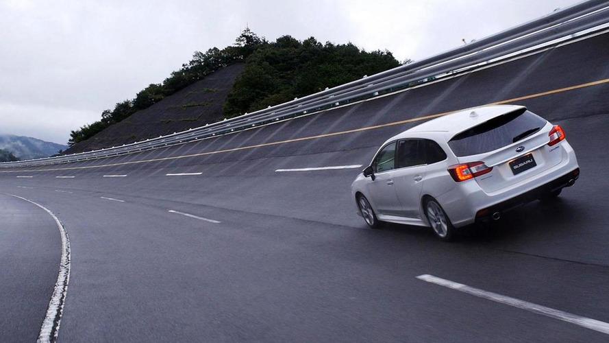 2014 Subaru Levorg hits the track [videos]