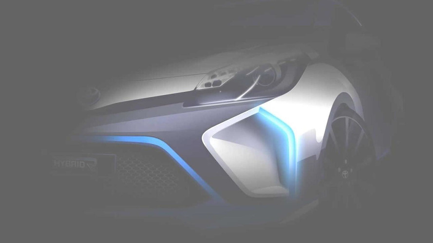 Toyota Hybrid-R concept teased again, based on the Yaris