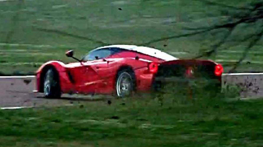 Kimi Raikkonen spins out while testing LaFerrari at Fiorano [video]