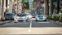 Porsche 935 And 910 Drive To Petersen