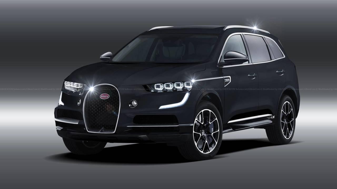 Bugatti SUV yorumu