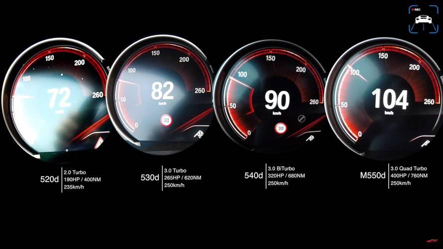 Dizel BMW 5 Serisi seçenekleri birbiriyle yarışıyor!