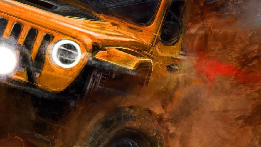 Yeni Jeep Wrangler'a Easter Safari için Off-Road revizyonu