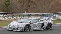 2019 Lamborghini Aventador SV Jota spy photo